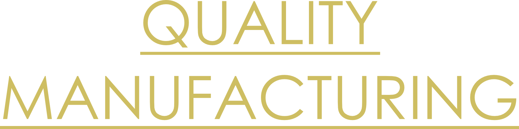 Quality Manufacturing Logo